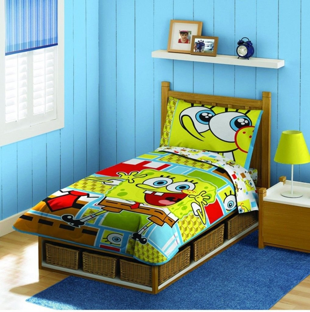 Best Nickelodeon Spongebob Squarepants Todder Bedding Set With Pictures