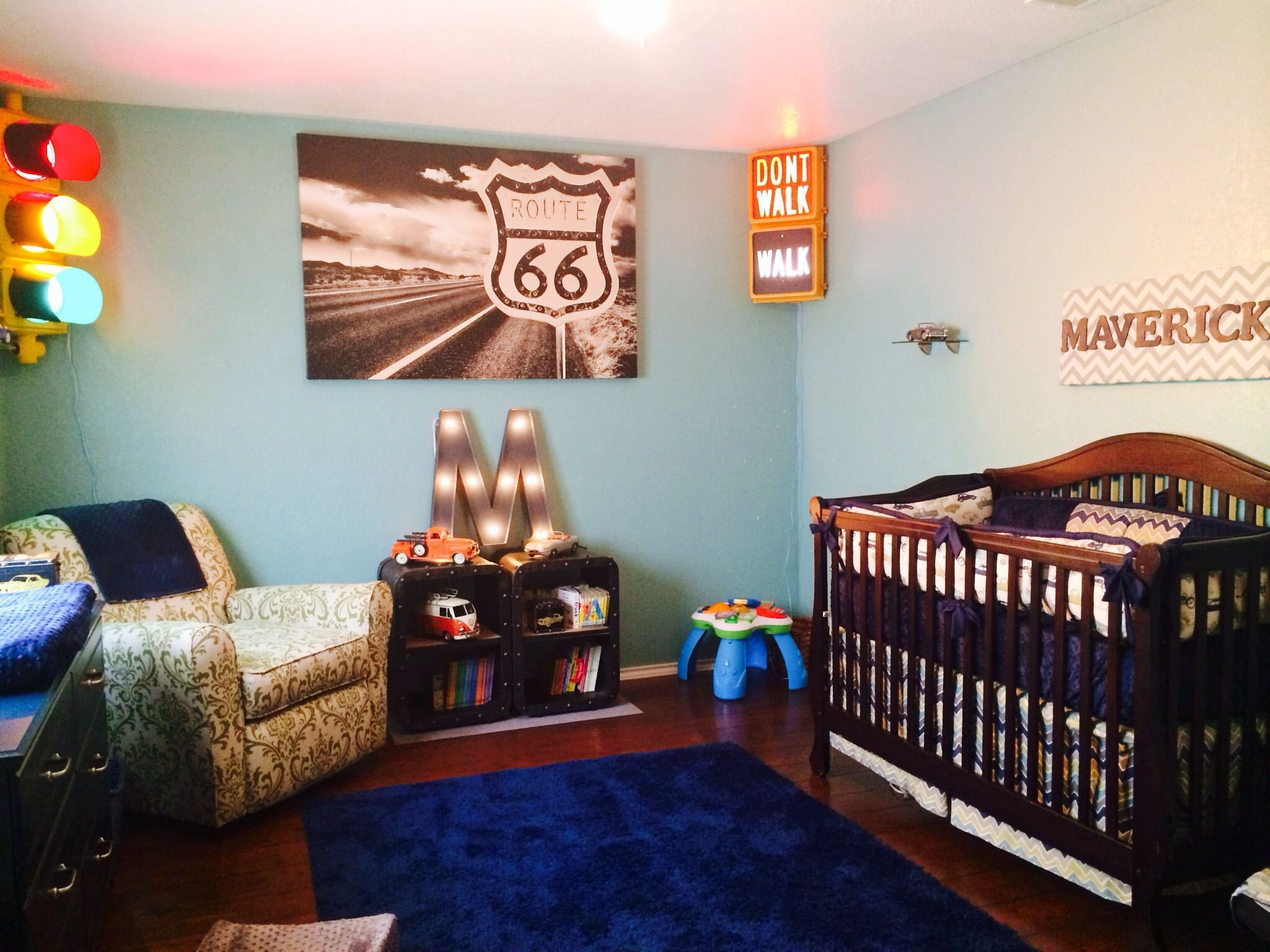 Best Classic Car Nursery For My Baby Boy Maverick Dean With Pictures