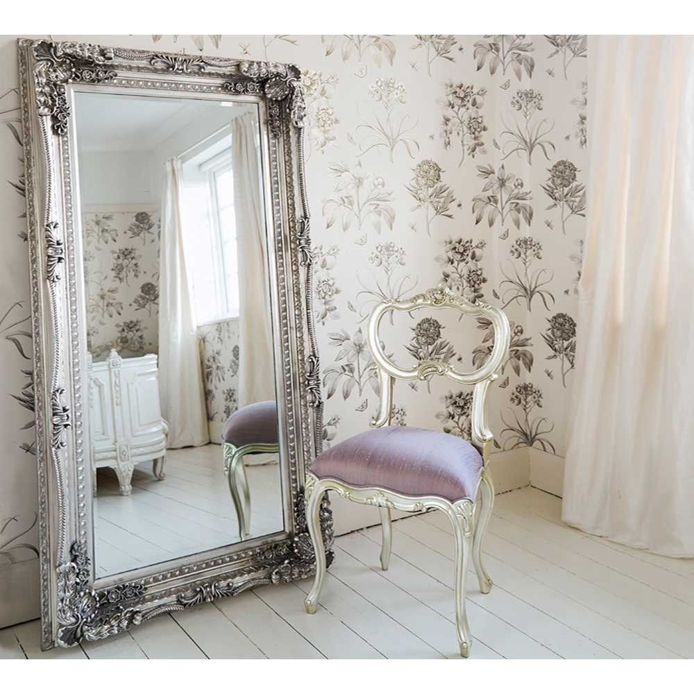Best Double Framed Marquise Silver Mirror French Bedroom With Pictures