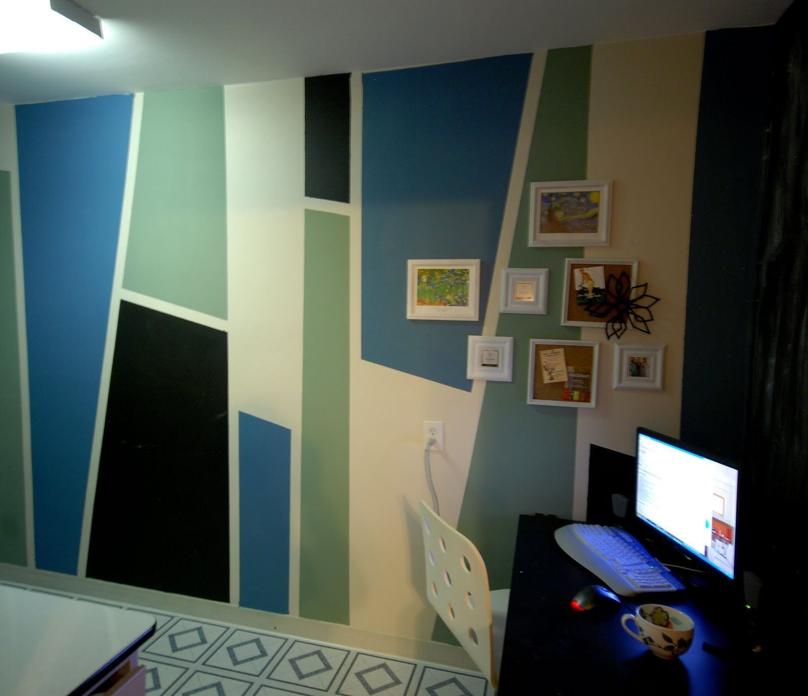Best Paint Block Designs On Walls Diy Design Sly Zig And Zag With Pictures