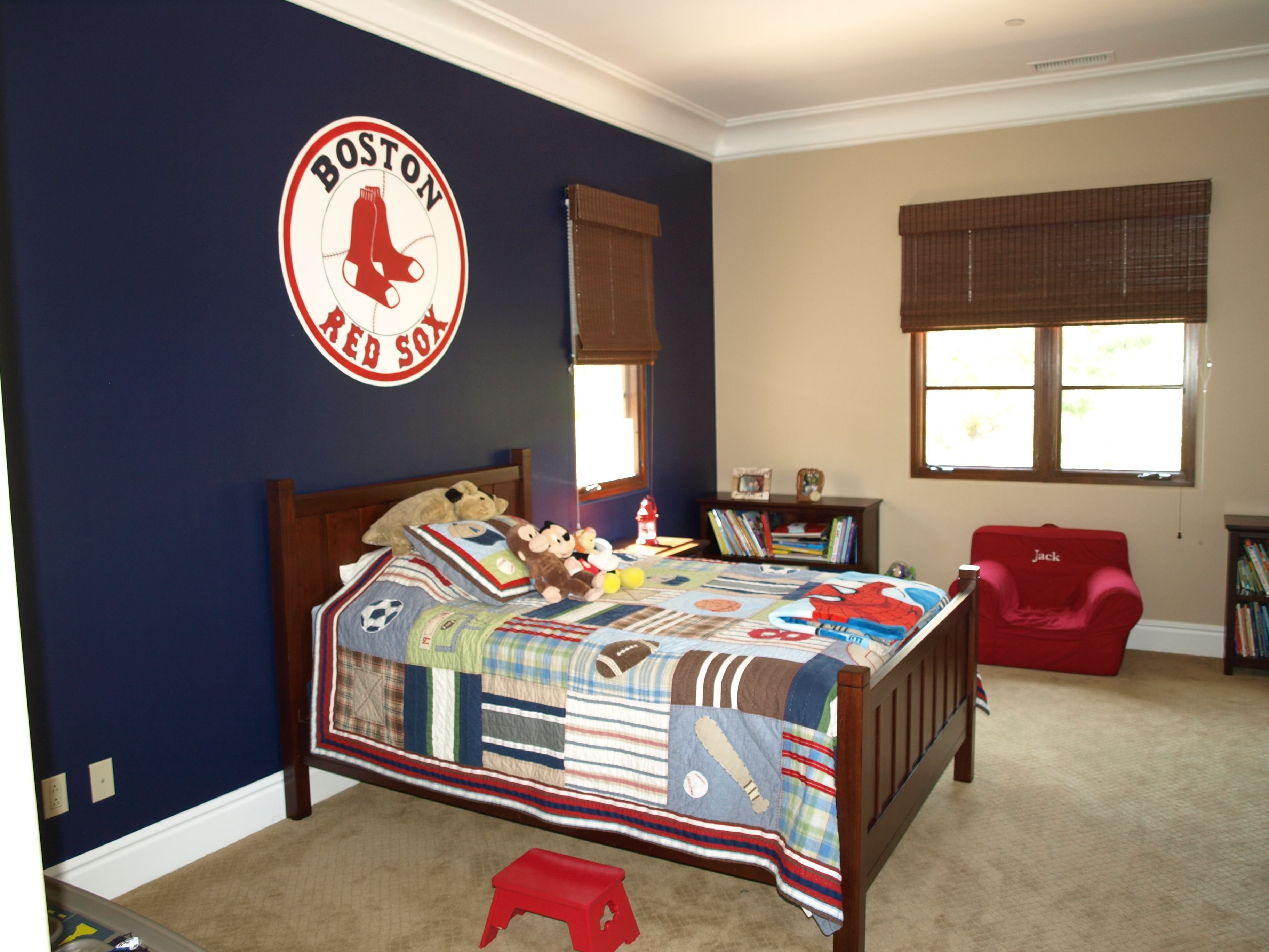 Best Baseball Room Take Down The Sox Shi And Put Up Some With Pictures
