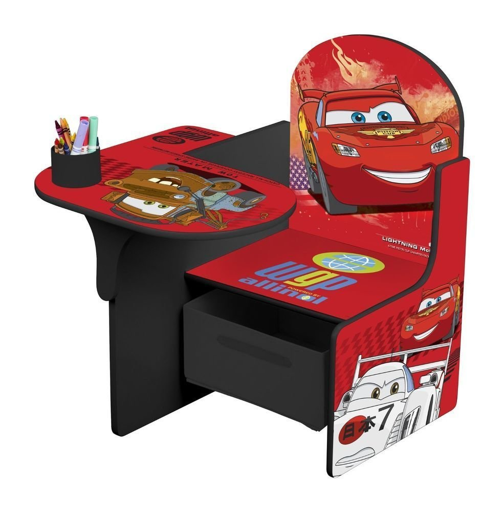 Best Disney Cars Childrens Kids Chair Desk Bedroom Play Room With Pictures
