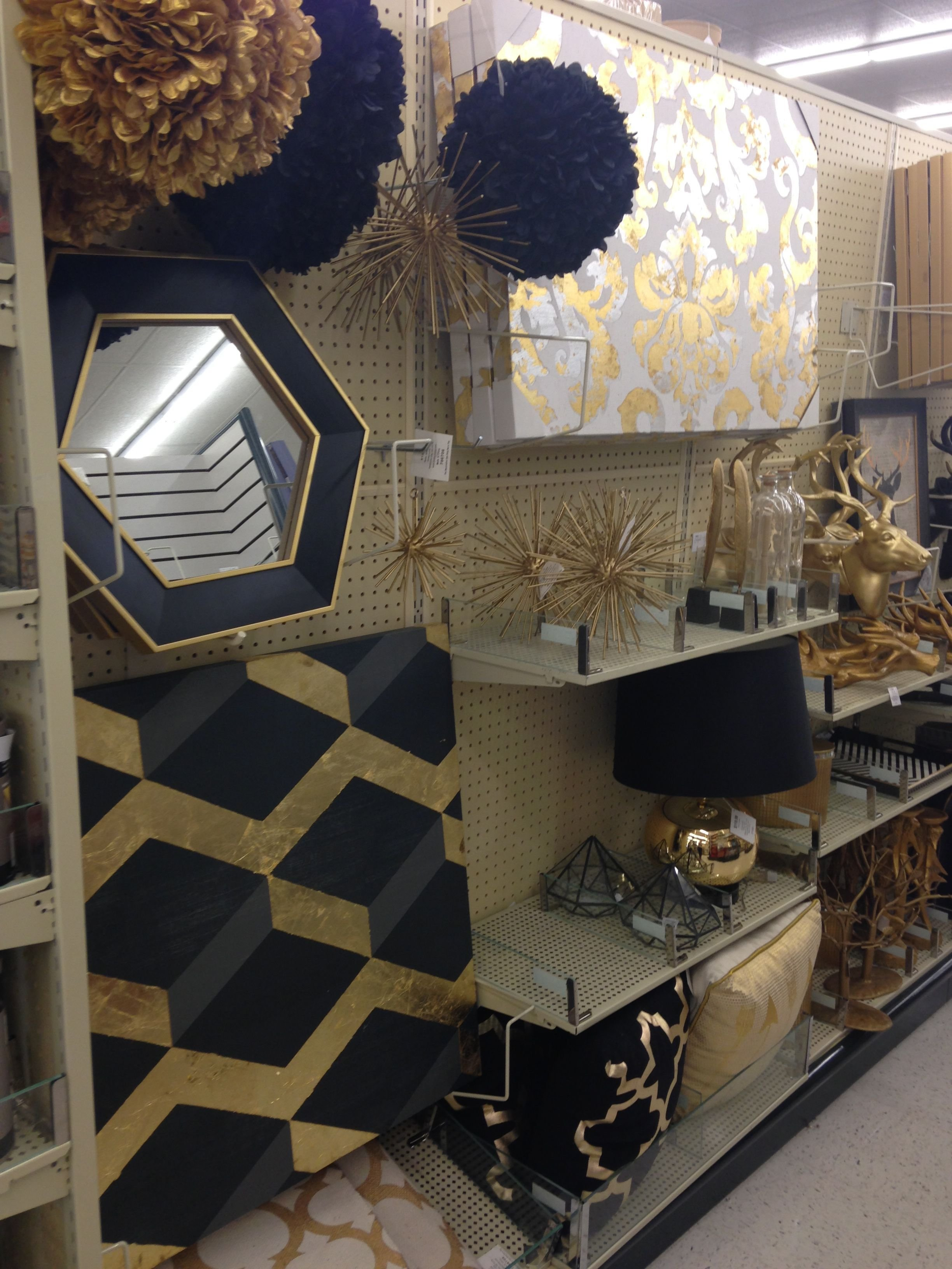Best Black Gold Hobby Lobby Finds New Apartment Decor With Pictures