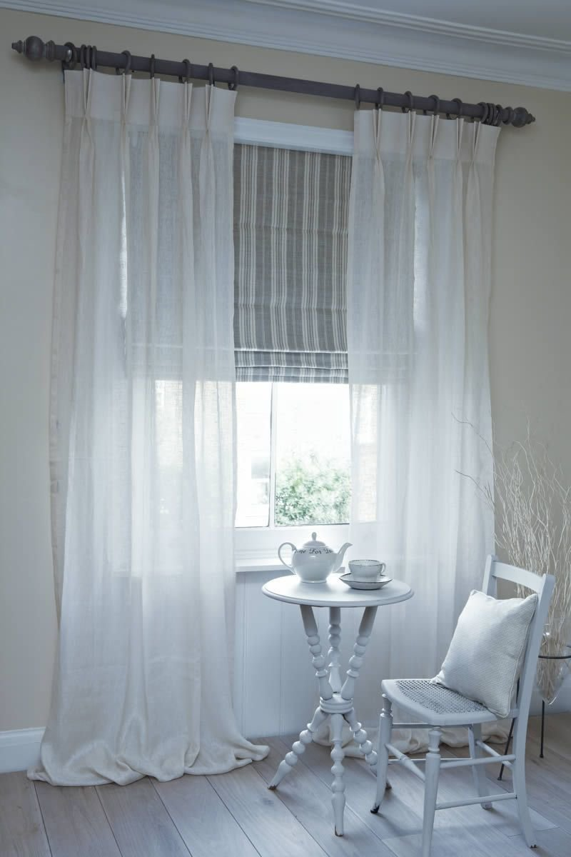 Best Neutral Bedroom Fabric Roman Shades Ideas Yahoo Image With Pictures