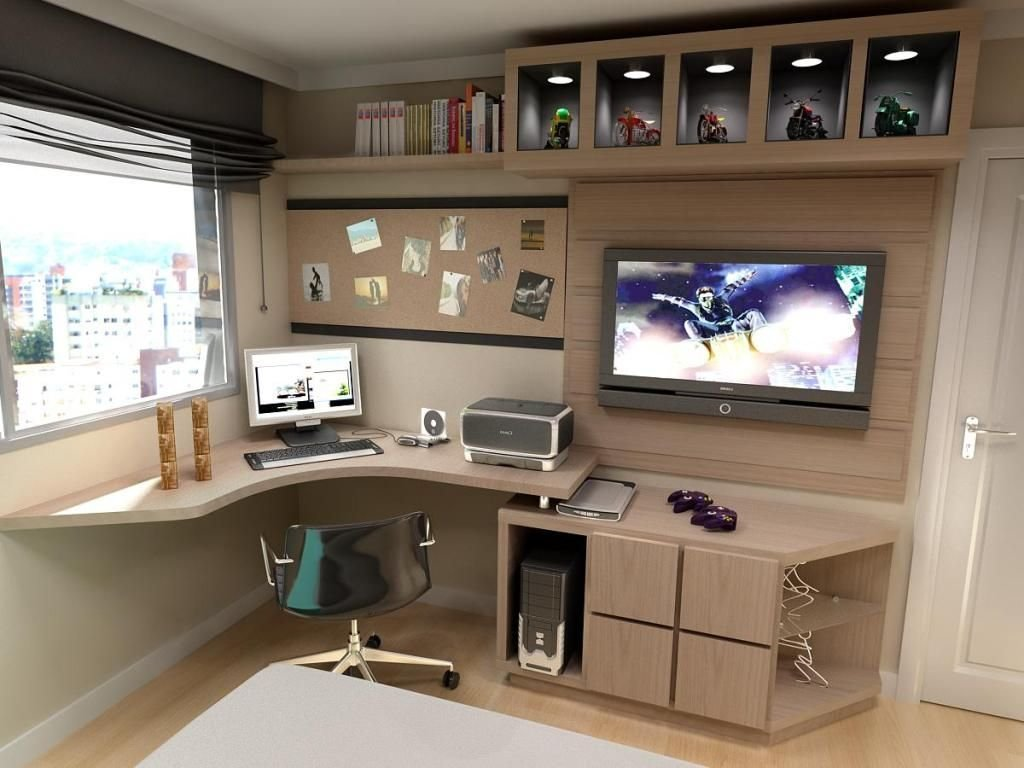 Best 30 Modern Computer Desk And Bookcase Designs Ideas For With Pictures