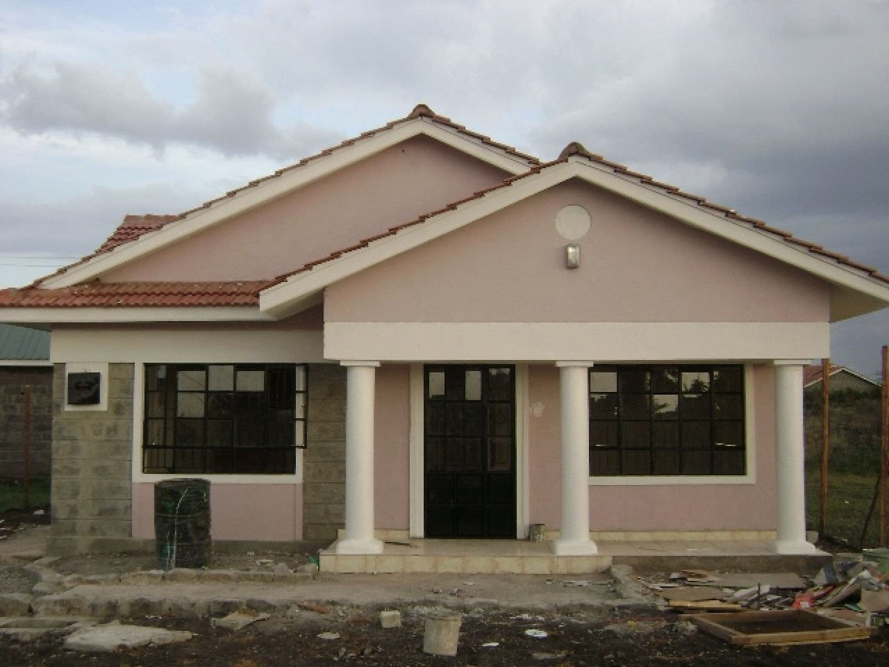 Best 3 Bedrooms House Plans In Kenya Arts Bedroom And Designs Three Design Section 8 Houses Lrg With Pictures