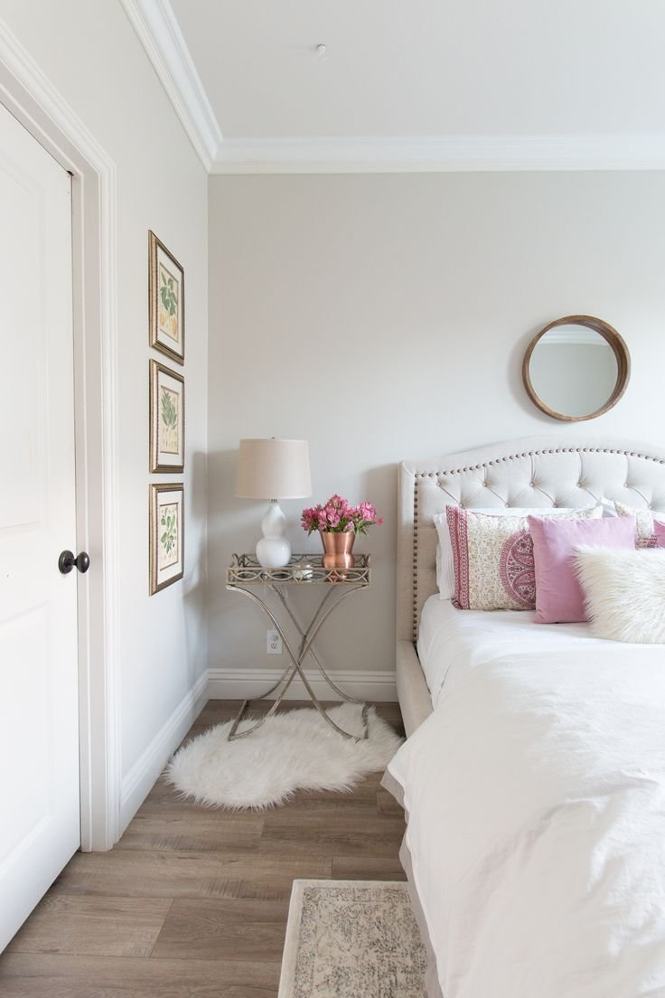 Best White And Pink Bedroom Inspiration White Walls White With Pictures