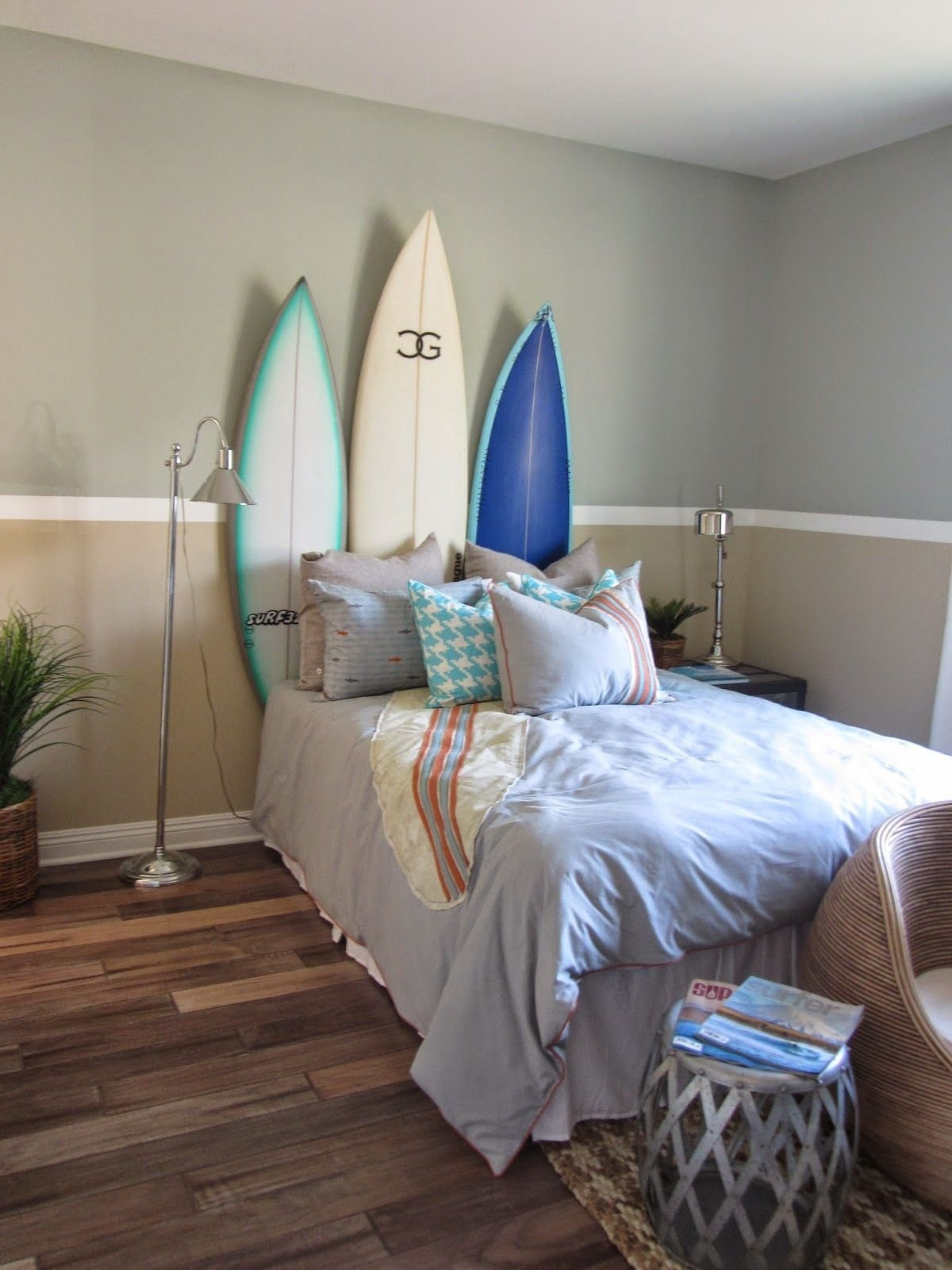 Best Surf Theme Bedroom Home Decor Interior Design Surf With Pictures