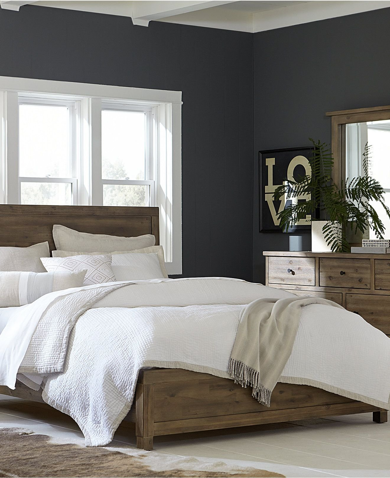 Best Canyon Platform Bedroom Furniture Collection Created For With Pictures