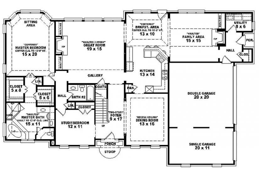 Best 6 Bedroom Single Family House Plans House Plan Details With Pictures