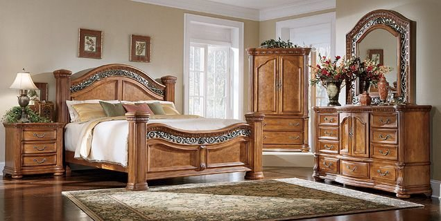 Best Bedroom Expressions Cordova 4 Pc King Poster Love This Whole Set Furniture Bedroom With Pictures
