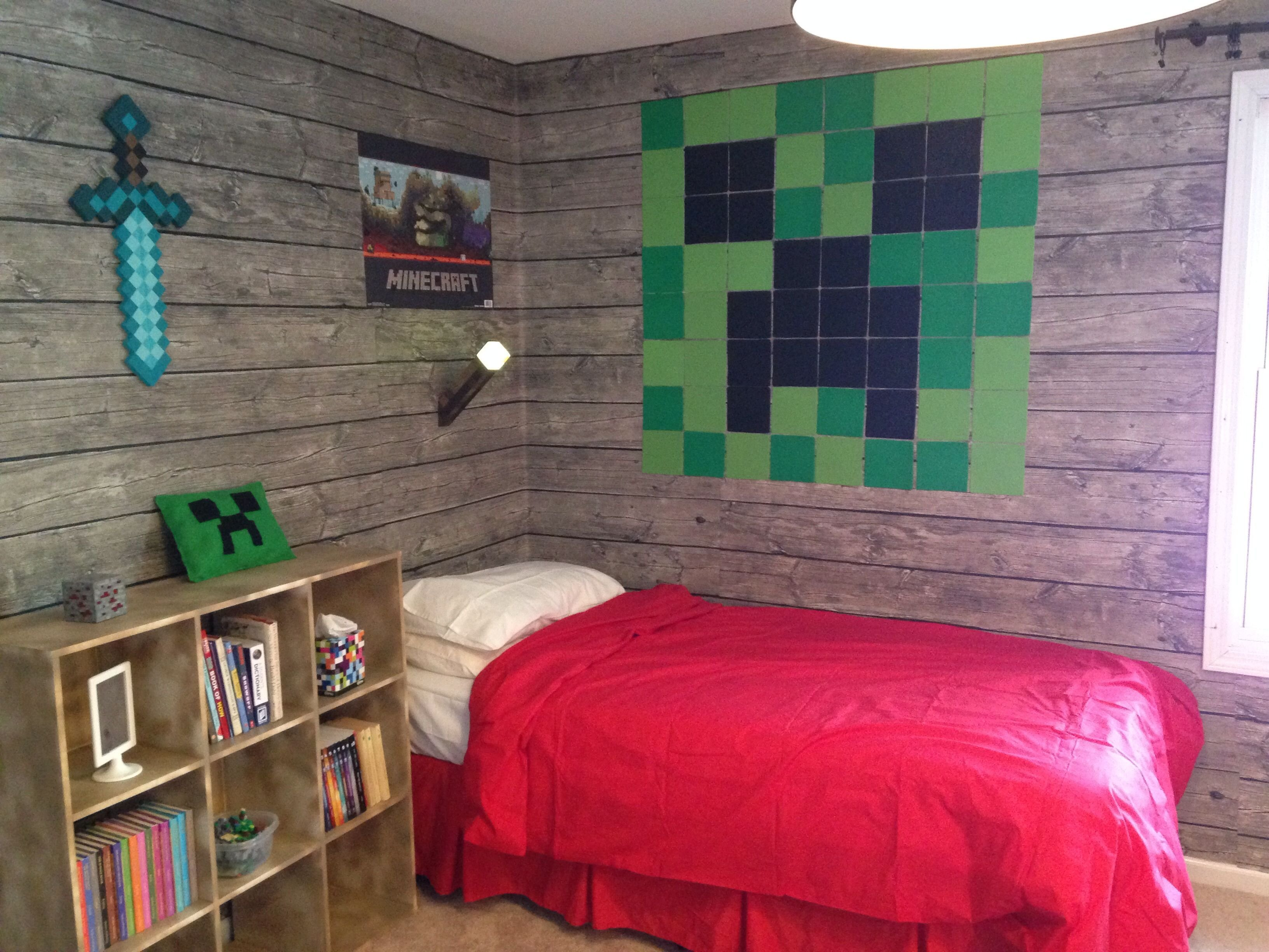 Best Pin By Campbell Kids On Minecraft Stuff Minecraft Room Minecraft Bedroom Kids Bedroom With Pictures