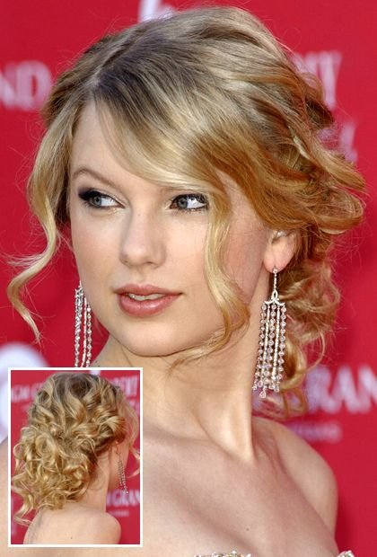 Free Taylor Swift Long Curly Bun Hairstyles In 2019 Hair Wallpaper