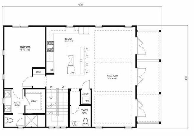 Best 30X40 House Plan Start Main Floor You Could Put A With Pictures