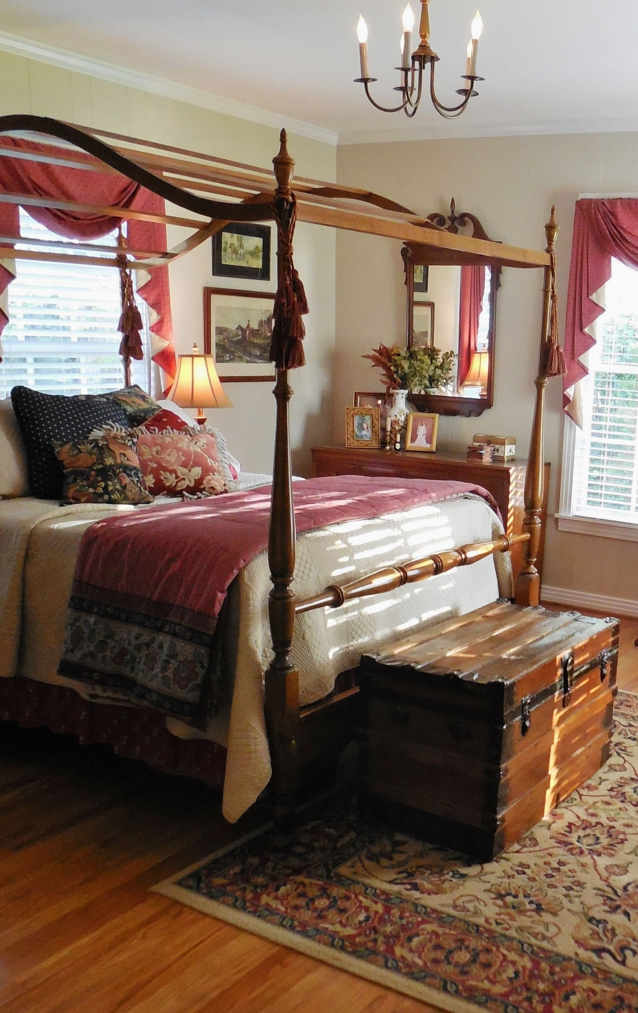 Best Lovely Colonial Style Bedroom Colonial Style Early With Pictures