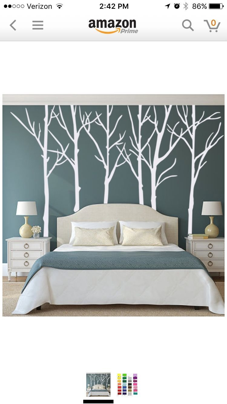 Best Love The Trees On The Wall Behind The Headboard Or Even With Pictures