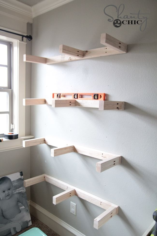 Best Diy Floating Shelves Plans And Tutorial Decorate My Life With Pictures