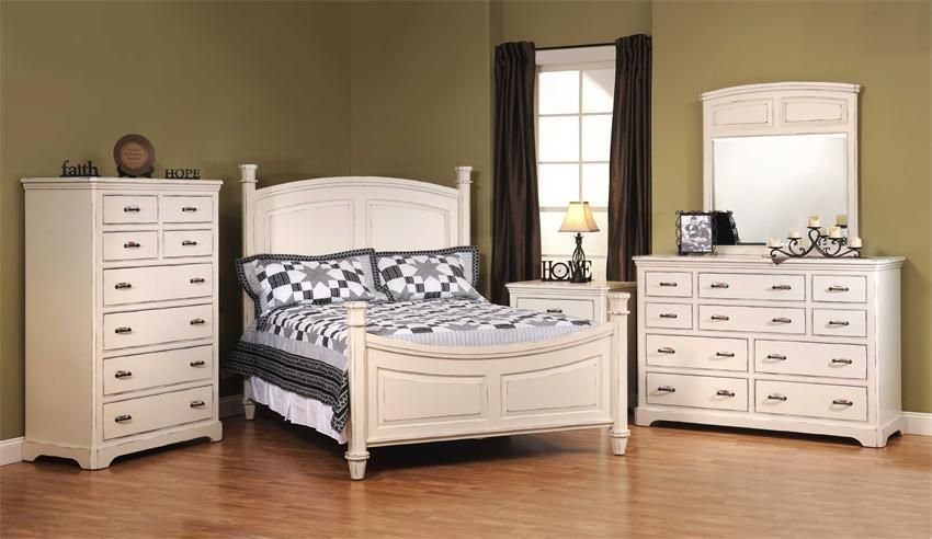 Best American Made Johnson White Bedroom Furniture Set In Solid With Pictures