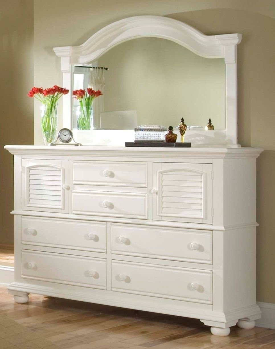 Best White Bedroom Dresser With Mirror Bedroom Dressers In With Pictures