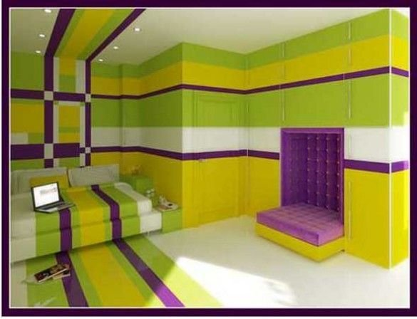 Best Bedroom Paint Colors Yellow And Purple Bedroom With Pictures