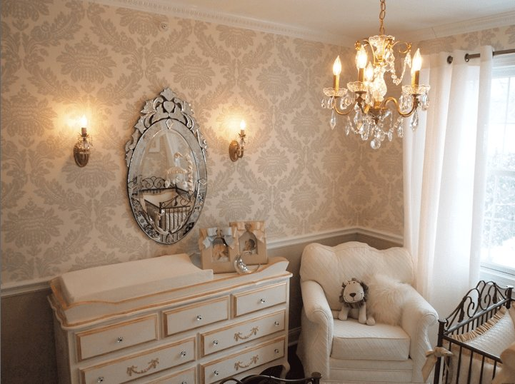 Best Upscale Crème Nursery From Interior Designer Athena With Pictures