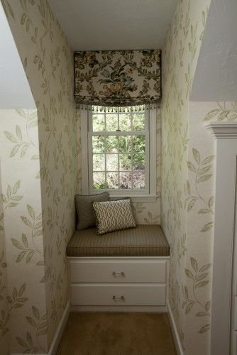 Best Great Use For Those Silly Little Spaces Under The Dormers With Pictures