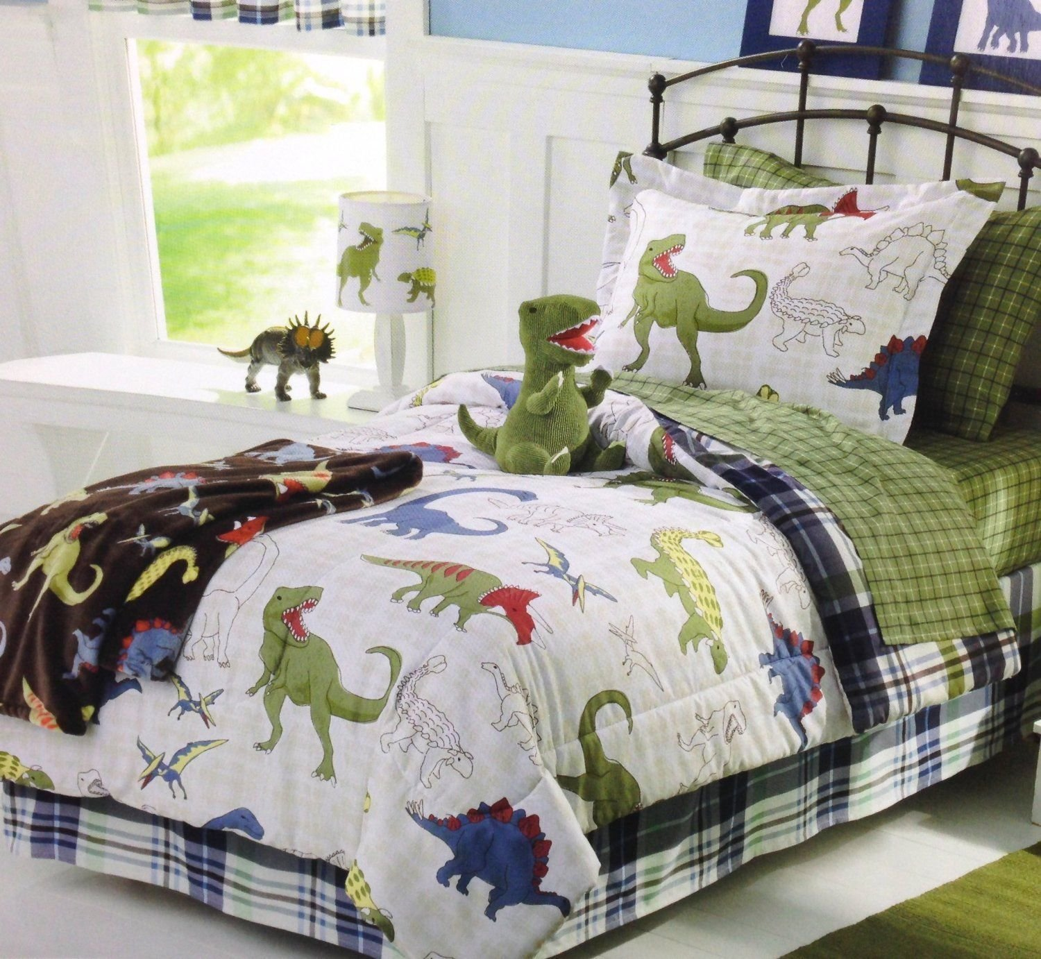 Best Dinosaur Bedding For Boys Grands In 2019 Dinosaur With Pictures