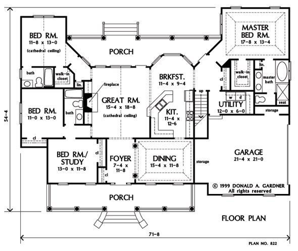 Best Plan Of The Week Under 2500 Sq Ft The Baxendale 822 2195 Sq Ft 4 Beds 3 Baths With Pictures