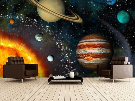 Best 3D Solar System In 2019 Becks Room Ideas Kids Room With Pictures