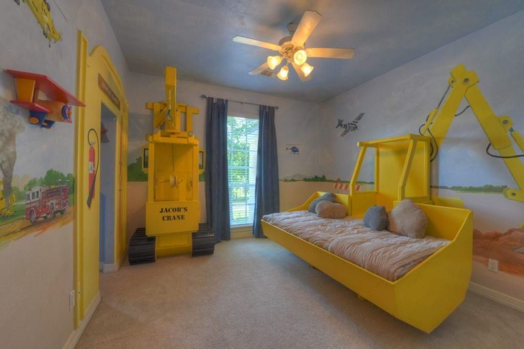 Best Construction Theme Kids Room Awesome Travis Trucks With Pictures