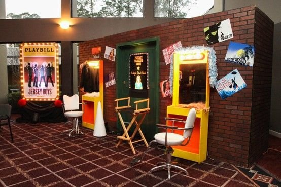 Best Broadway Themed Party Room Decor And Props For A With Pictures