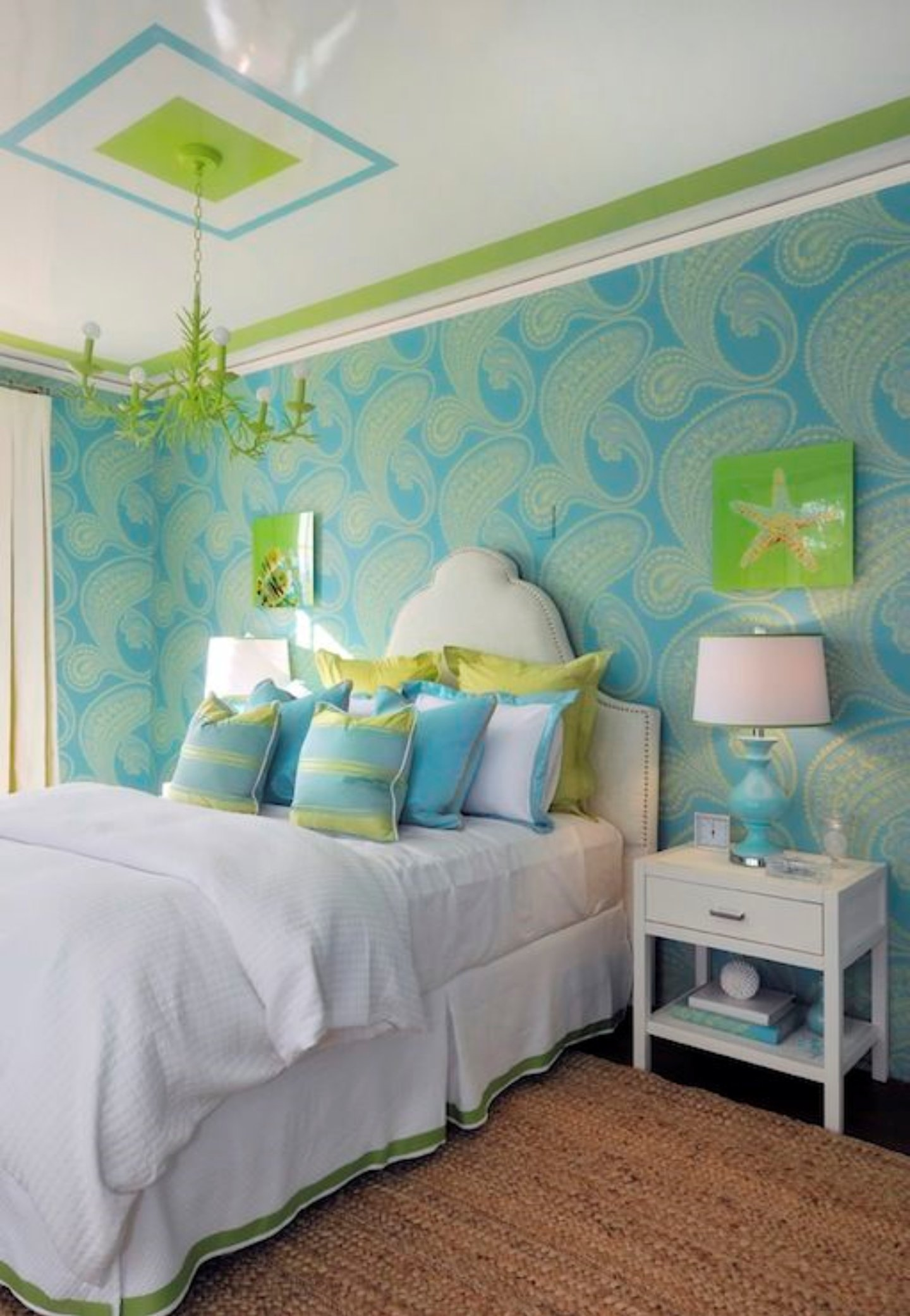 Best Lovely T**N Girls Bedroom In Green And Blue With Cool With Pictures
