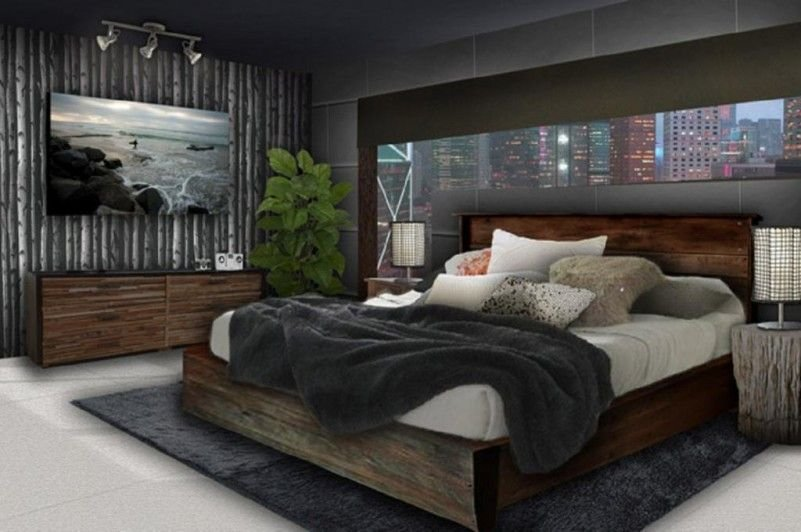 Best Young Mens Bedroom Decorating Ideas With Clasic Wood With Pictures