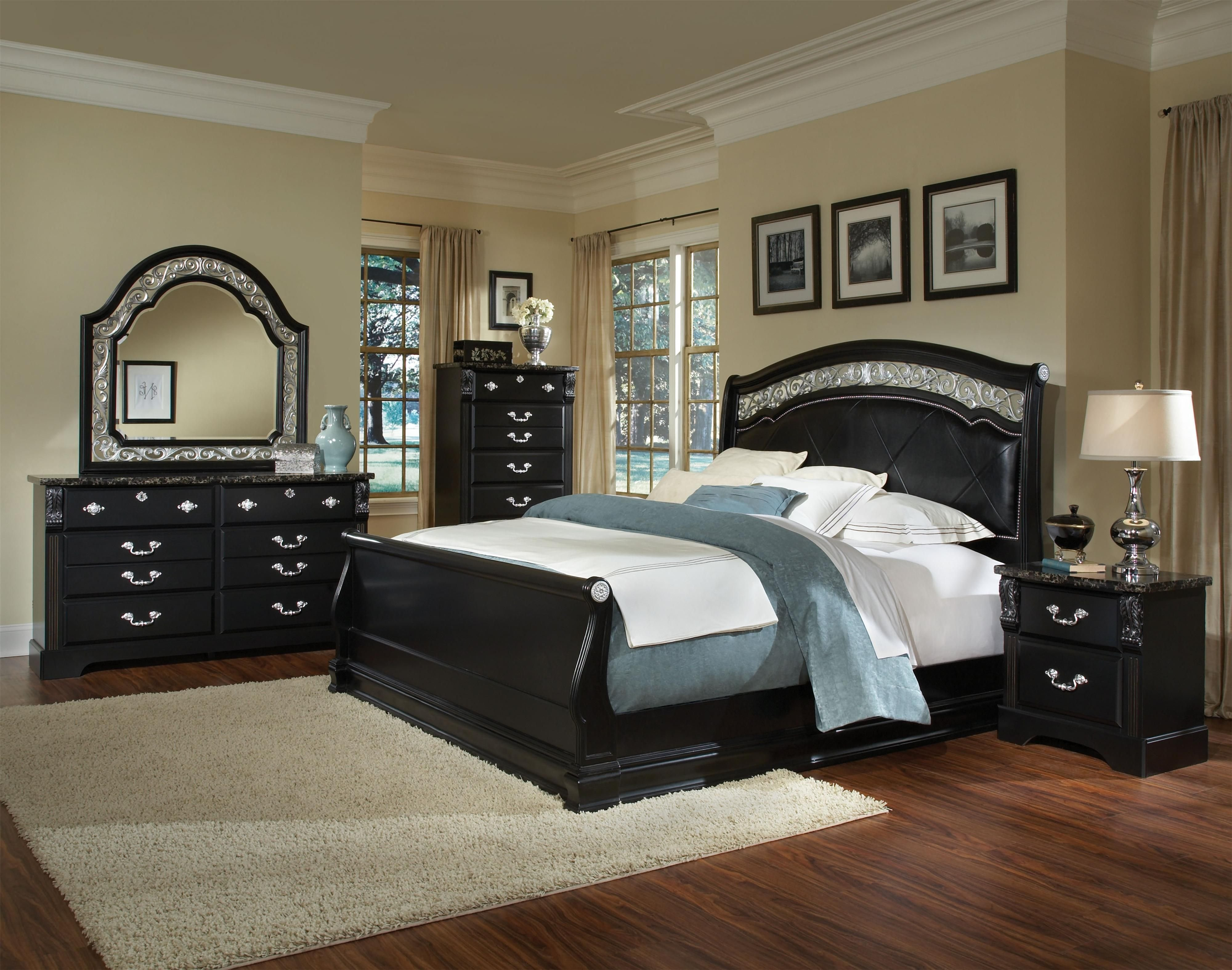Best Black Bedroom Furniture Very Nice For The Home With Pictures
