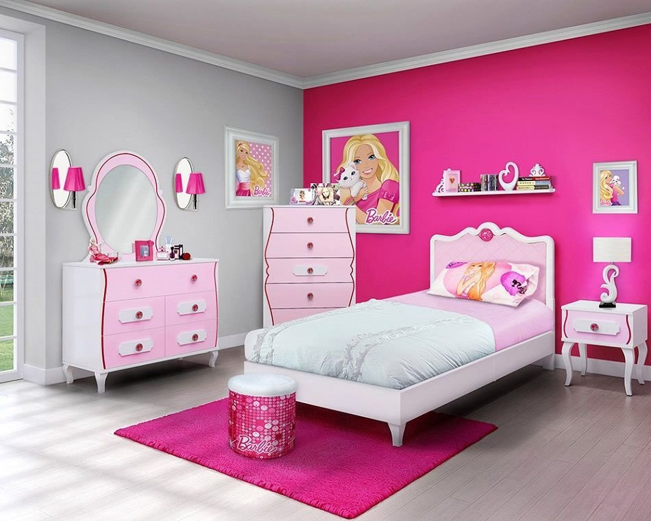 Best Picture Perfect Girls Barbie Bedroom Socialcafe With Pictures