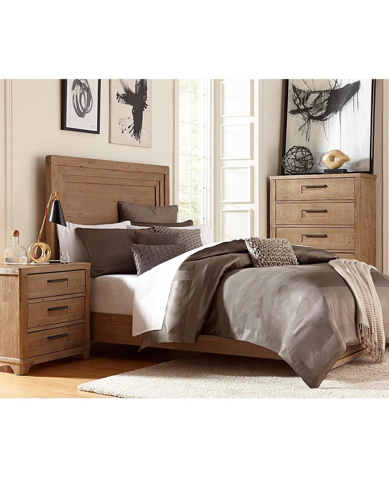 Best Summerside 3 Piece Queen Bedroom Furniture Set With Chest With Pictures