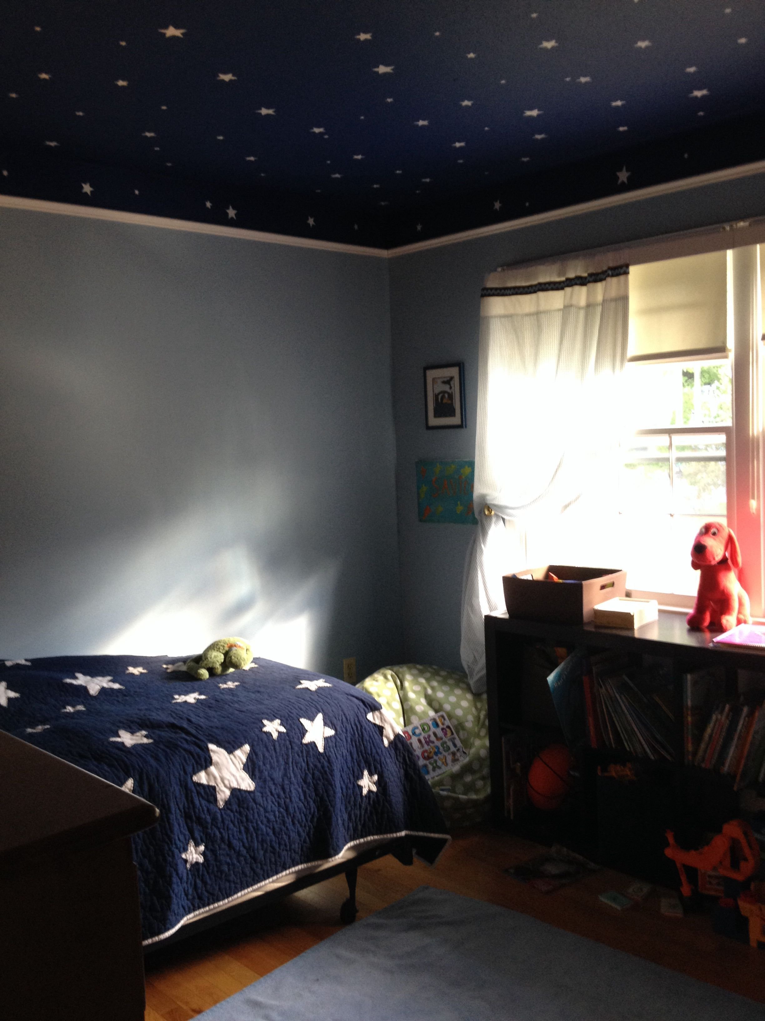 Best 4 Year Old Space Room I Love The Walls And Ceiling With Pictures