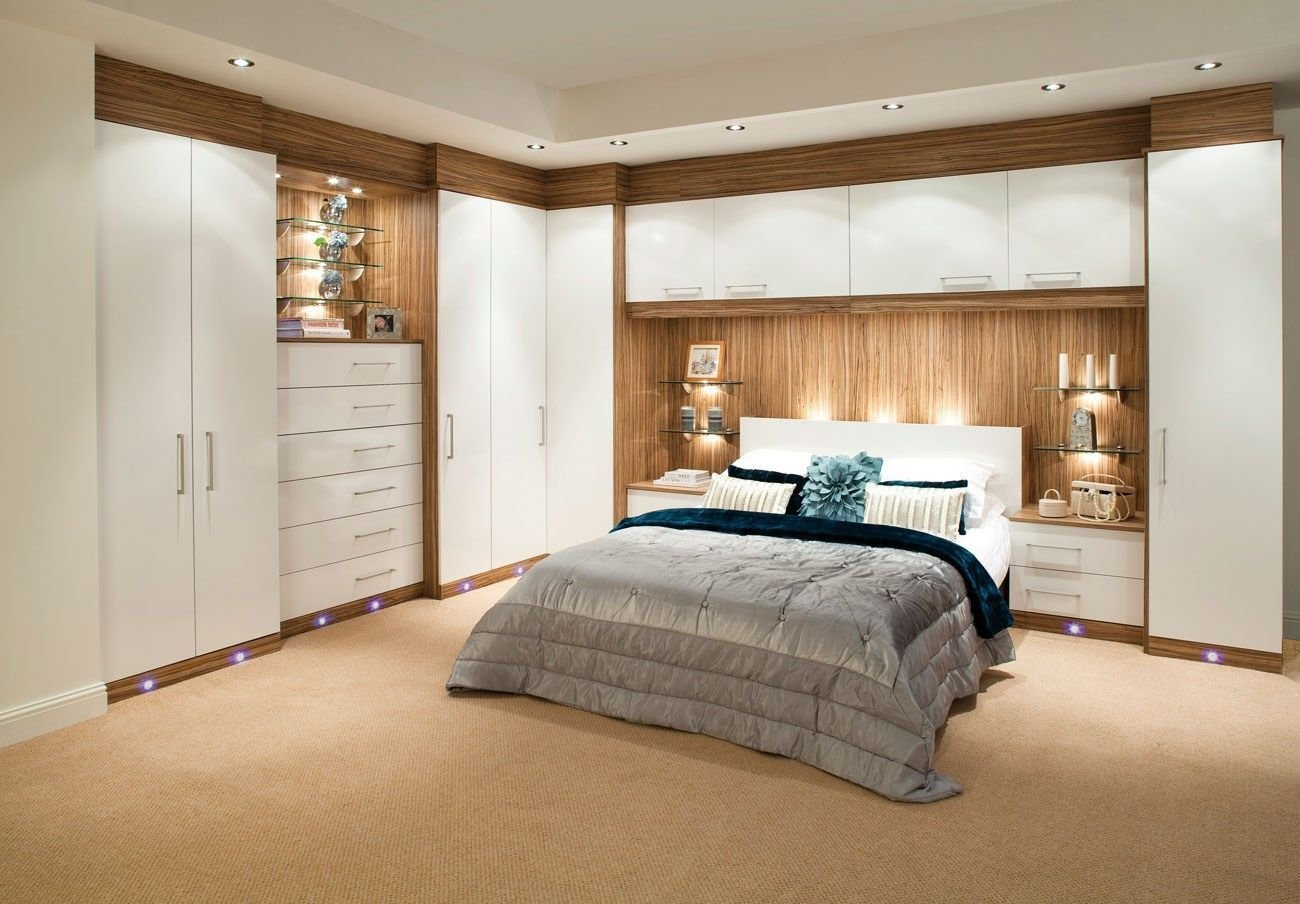 Best Built In Wardrobe Around Bed Corner Furniture For Space With Pictures