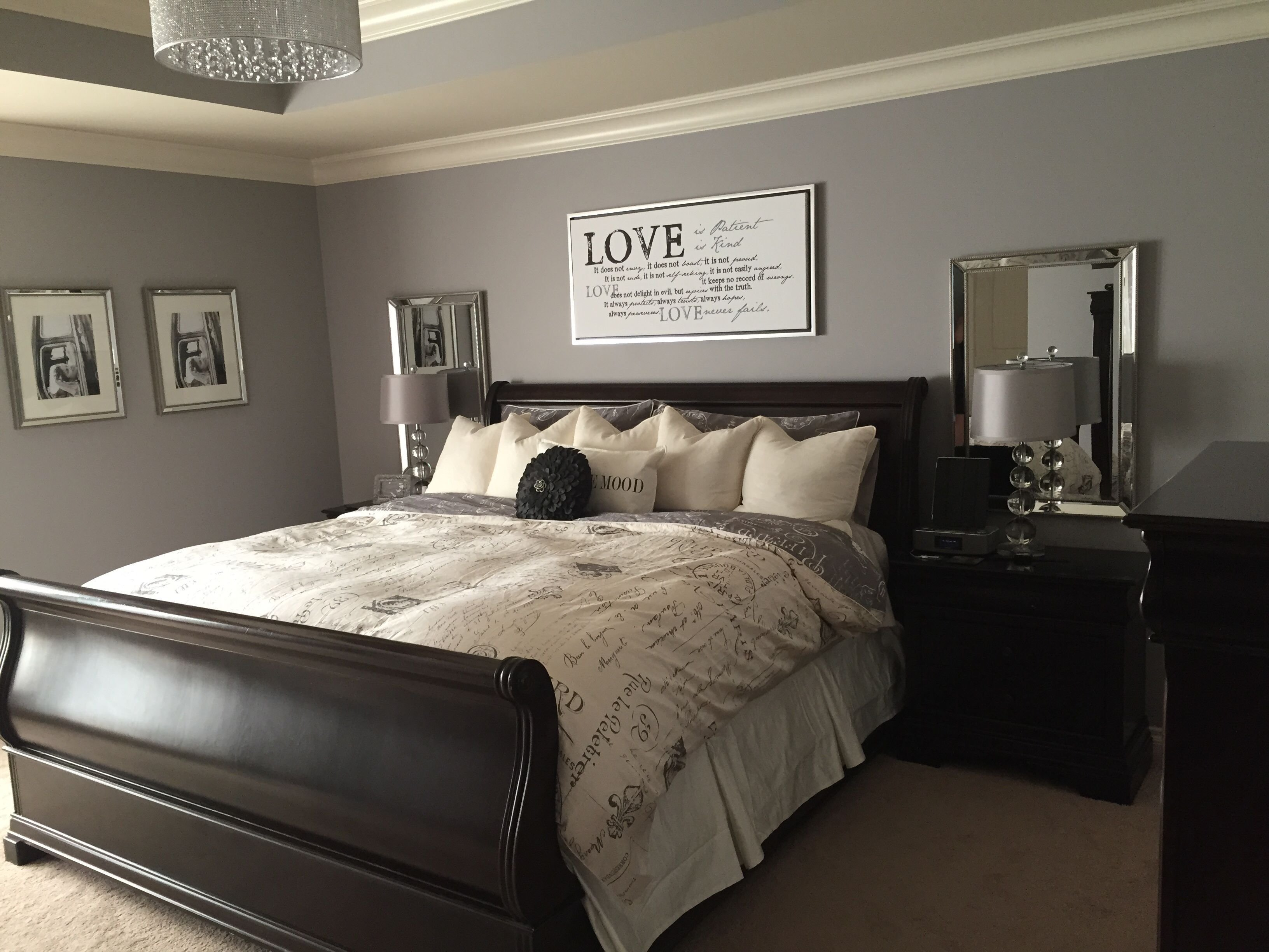 Best Stormy Monday Benjamin Moore New House Bedroom Decor With Pictures