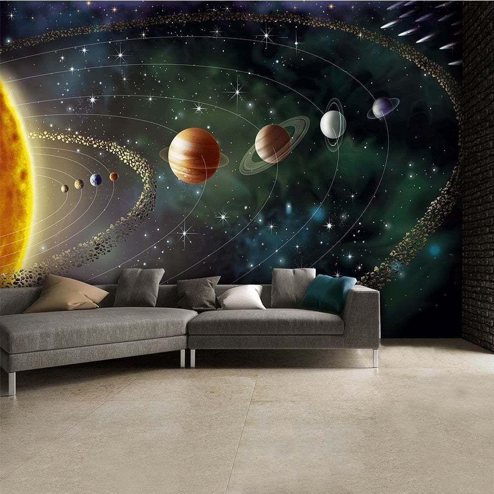 Best Outer Space Wall Mural Wallpaper Inn Store Childrens With Pictures