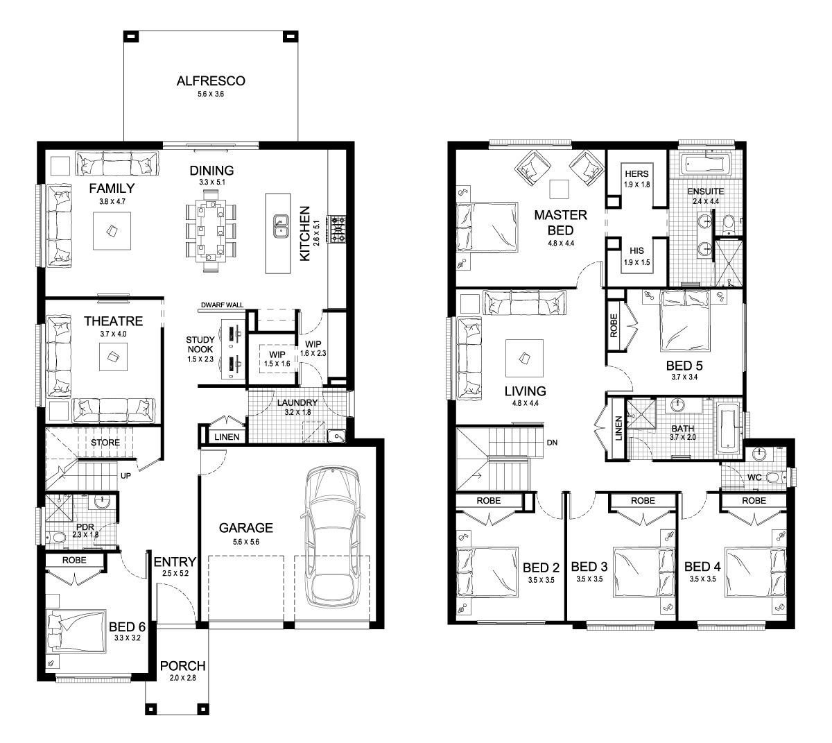 Best Aria 38 Double Level Floorplan By Kurmond Homes New With Pictures