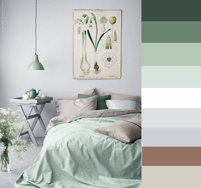 Best Grey And Brown Bedroom Color Palette Online Information With Pictures