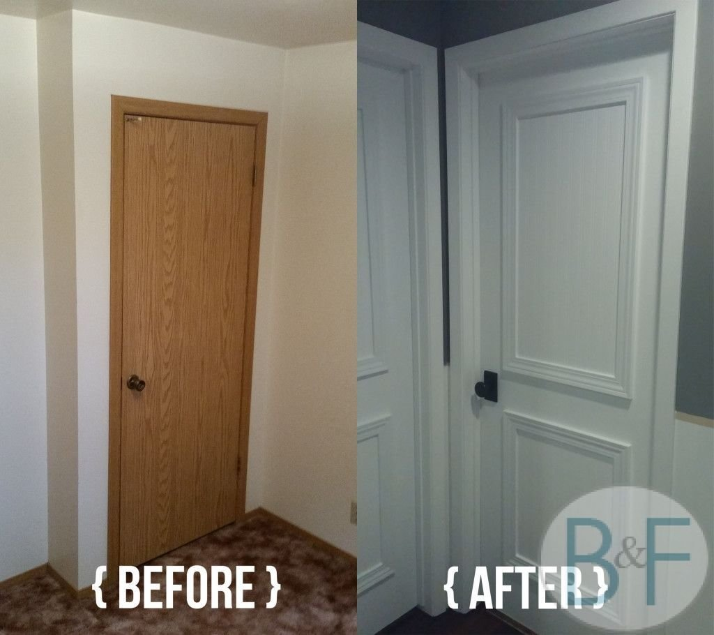 Best Pin By Shandice Beal Johnson On Hallway In 2019 Renovation Hollow Core Doors Door Makeover With Pictures