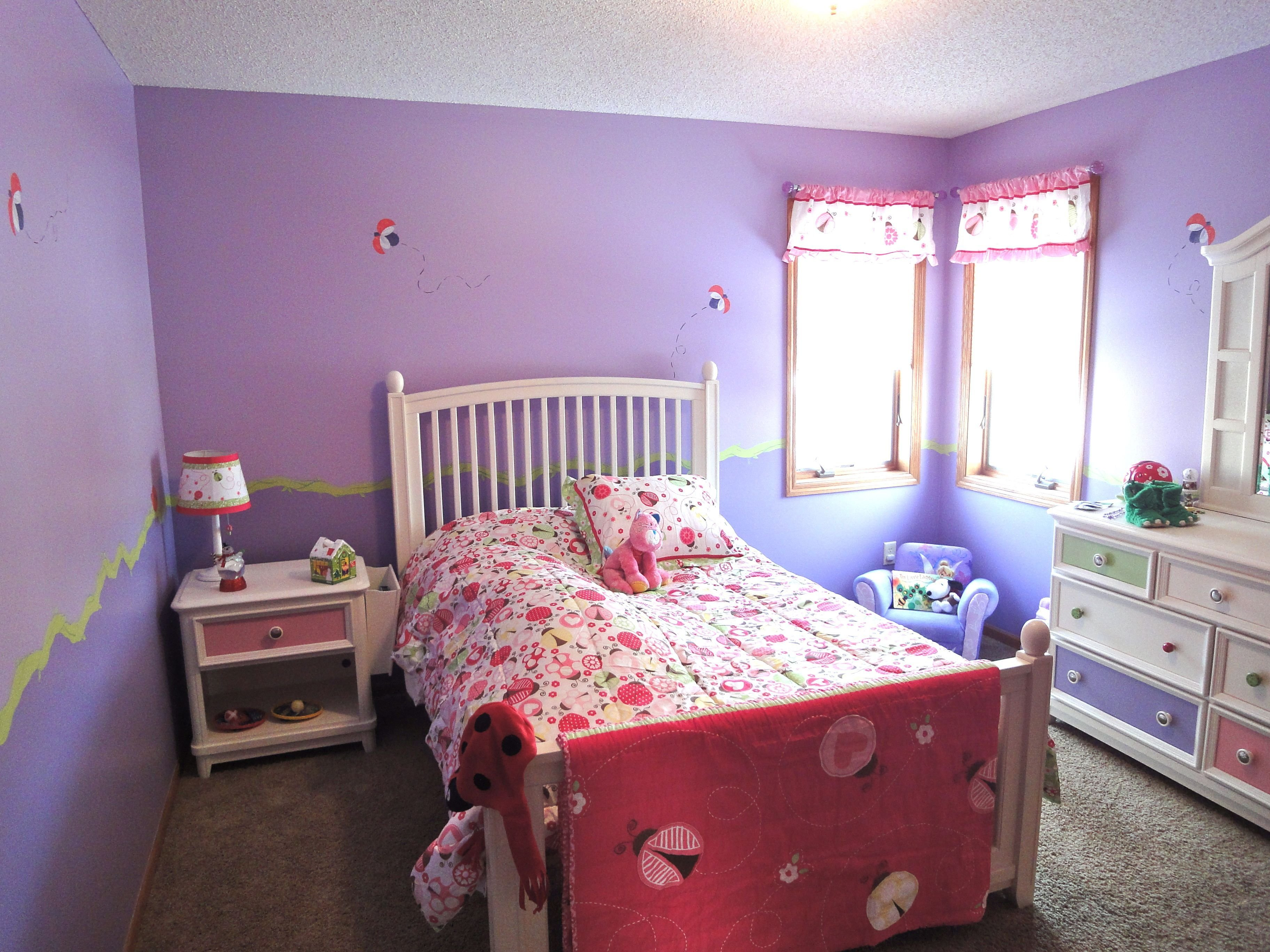 Best Ladybug Room Simple But Fun Emme Needs A Room Too With Pictures