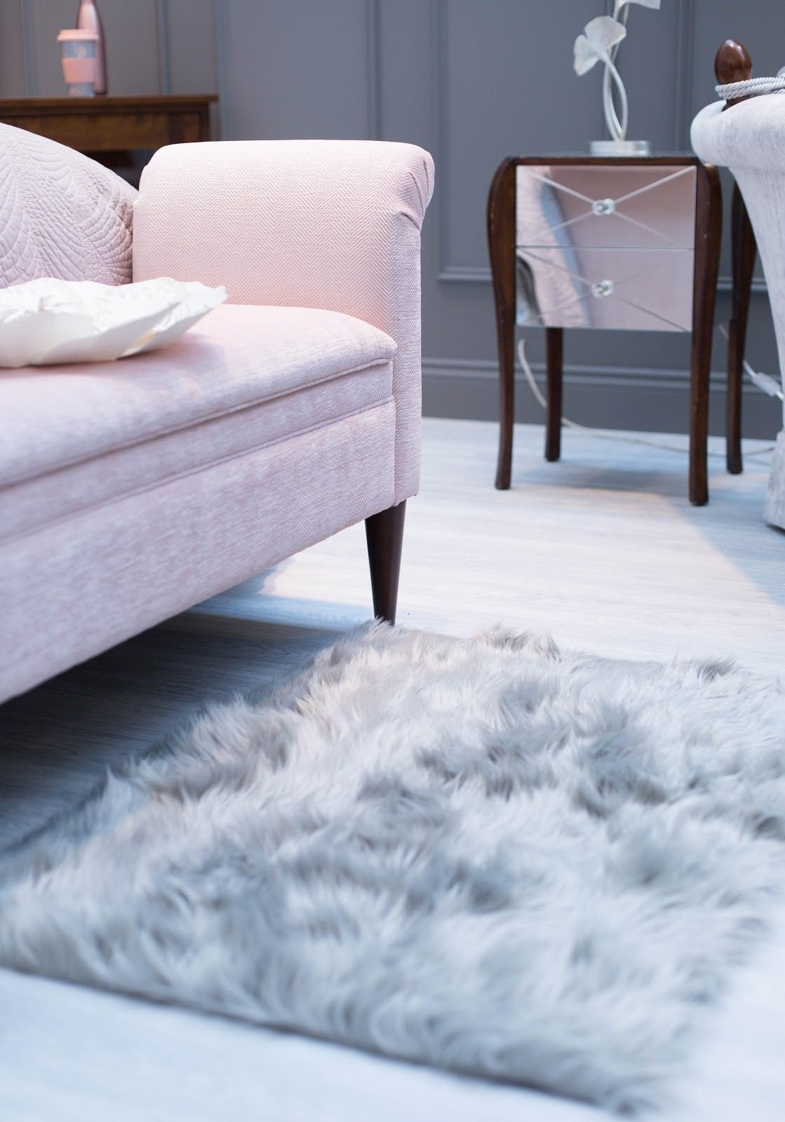 Best Laura Ashley Press Show Ss17 For The Home Fluffy Rugs With Pictures