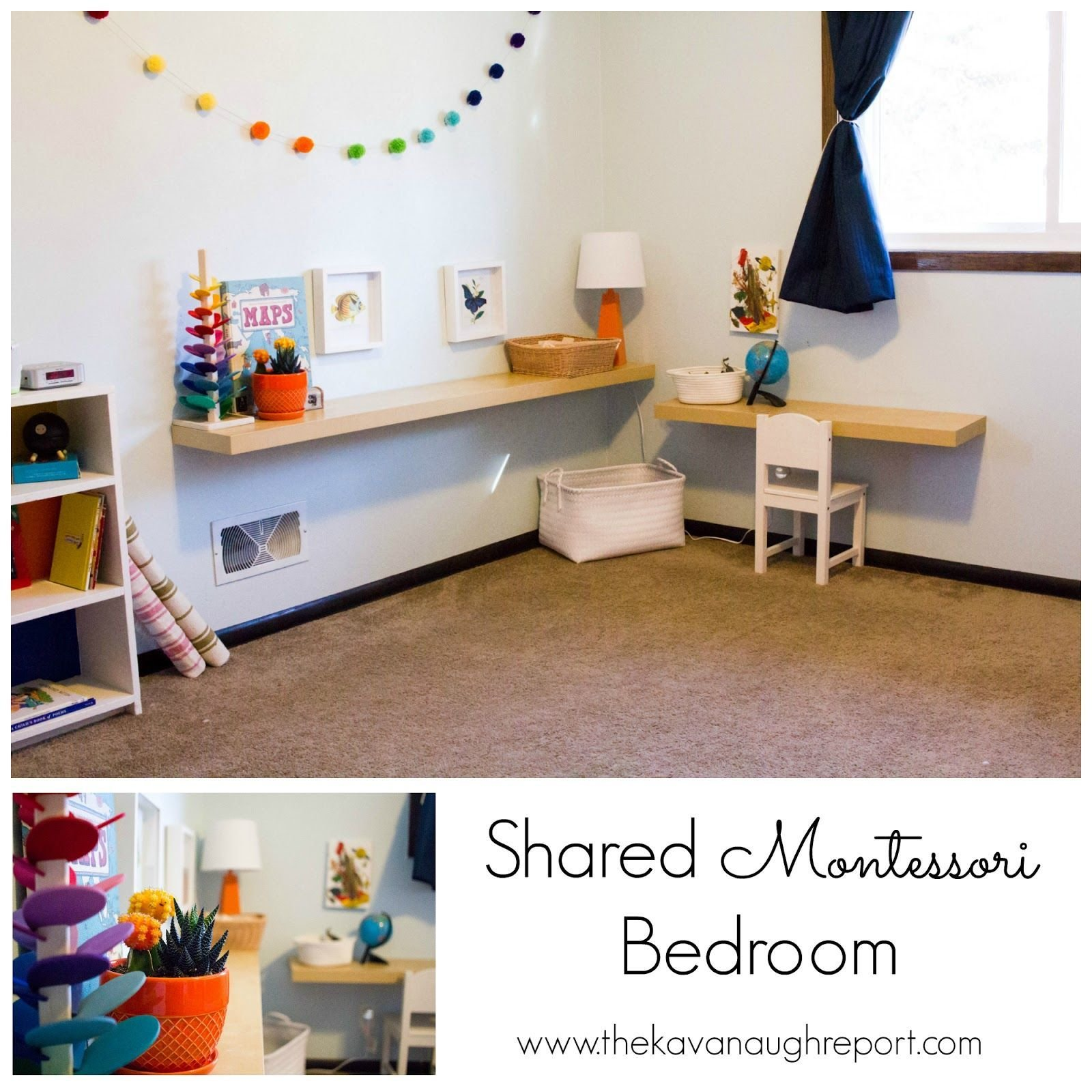 Best Shared Montessori Bedroom Montessori Friendly Home With Pictures