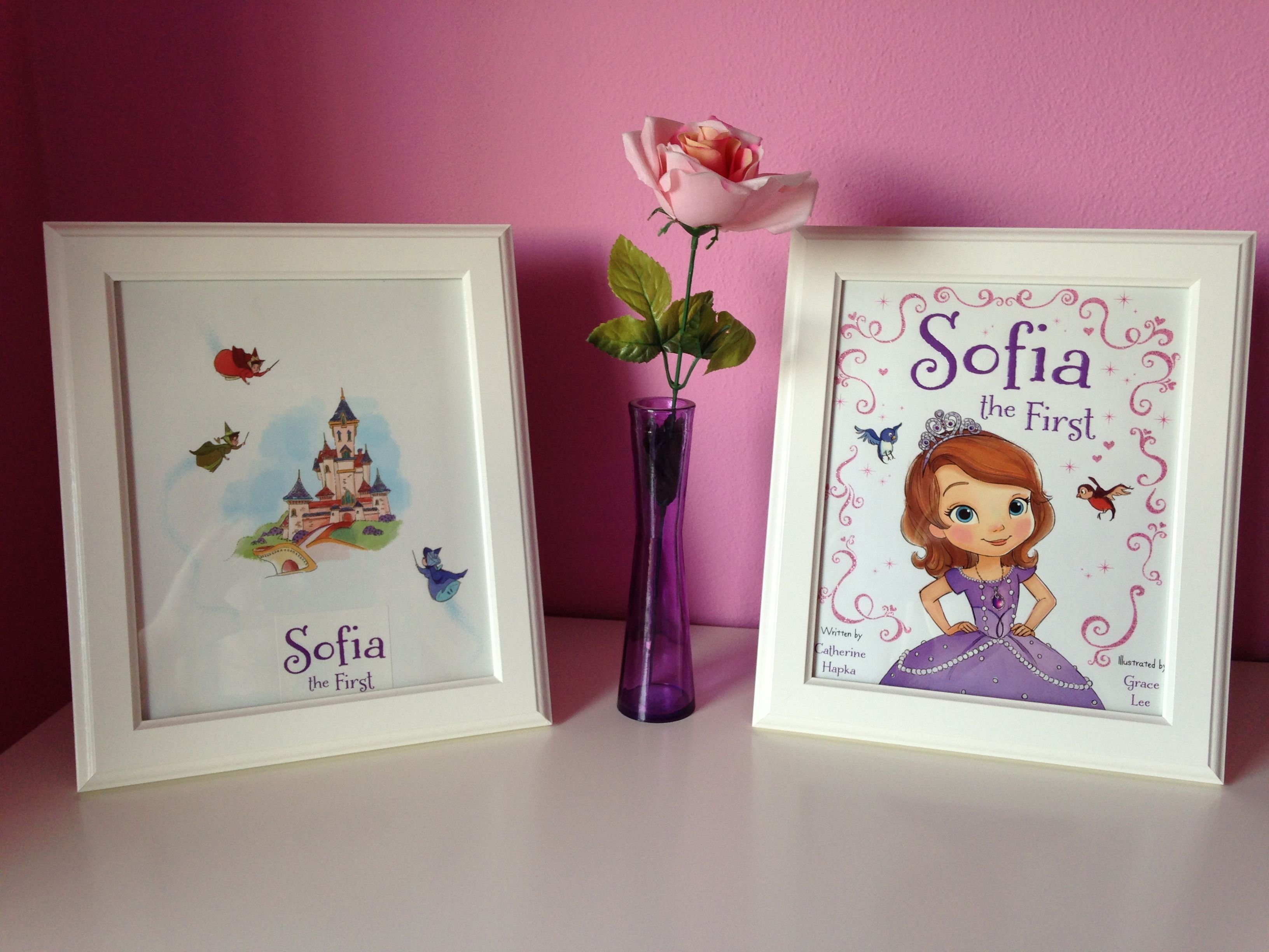 Best Diy Sofia The First Room Decor Diy Princess Room Decor With Pictures