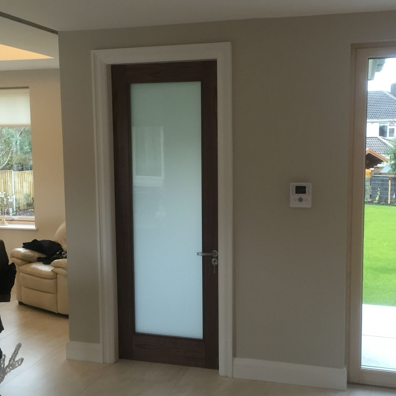 Best Walnut Internal Door With Frosted Glass Versatility Of Sliding Barn Doors Frosted Glass Door With Pictures