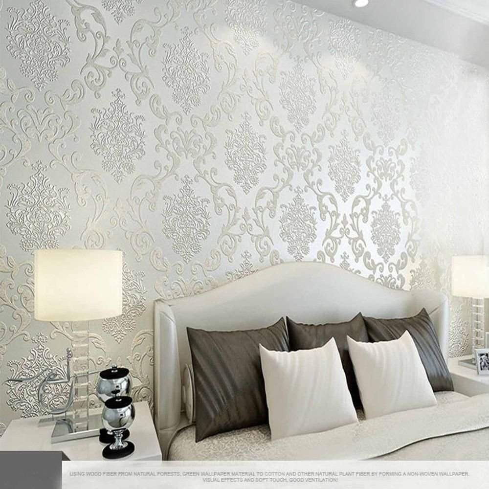 Best 10M Many Colors Luxury Embossed Textured Wallpaper With Pictures