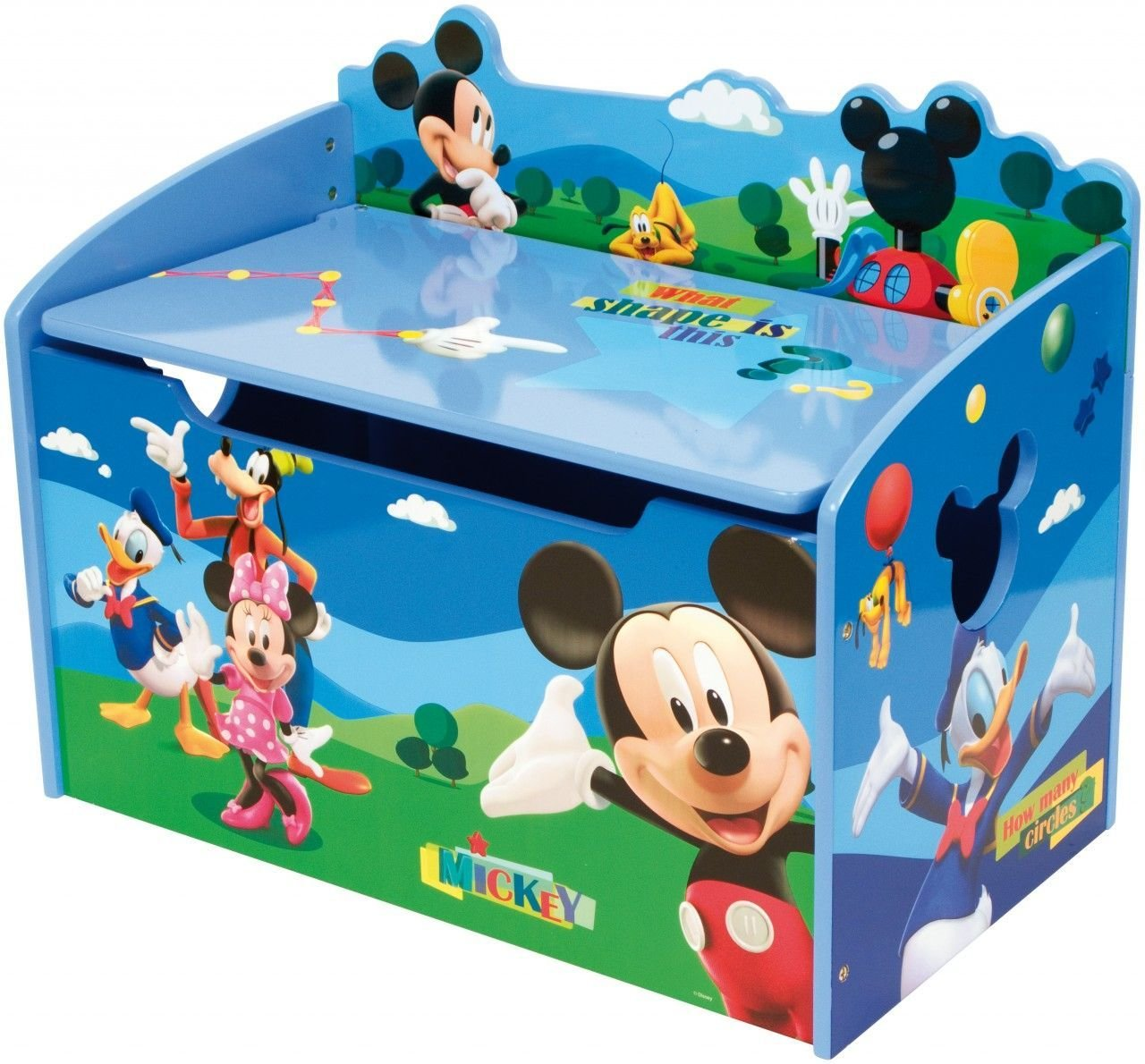Best Mickey Mouse Clubhouse Toy Box Clubs Hotel Para Gatos Uc With Pictures